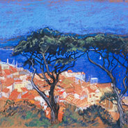 St Tropez from Hills