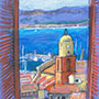 View of St Tropez